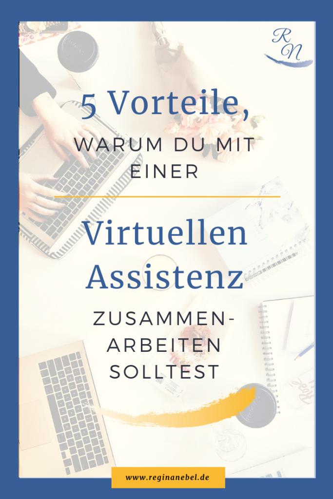 5 Vorteile warum du mit einer Virtuellen Assistenz zusammenarbeiten solltest