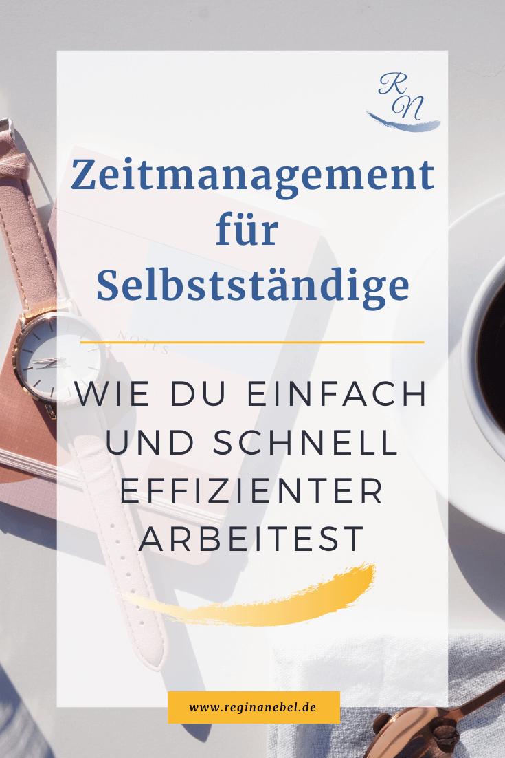 Read more about the article Zeitmanagement für Selbstständige – Wie du einfach und schnell effizienter arbeitest
